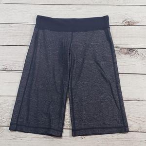 Lululemon Womens Gray black heathered shorts 6